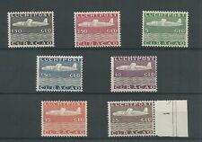 Curacao   LP82-88 VLIEGTUIGEN  MH/ongebr CV 525 €