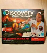 NEW! SEALED. Discovery Kids #MINDBLOWN Ultimate Science Experiment 17 pc Kit