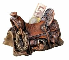 Spardose Saddle, Westernsattel ca. 13x9x9cm