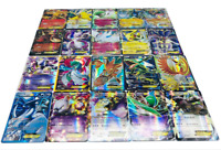 100PCS Pokemon Cards 60EX+20GX+20Mega Flash Card Holo Trading Cards Kids Toy