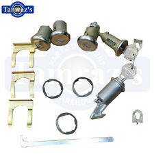 66 Bel Air Impala Ignition Door Glove & Trunk Lock Kit Original Key Style 431