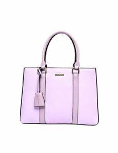 MISS SERENADE LAUREN VEGAN LEATHER Women's Handbag- LILAC