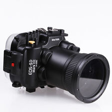 60M Waterproof Diving Housing Case for Canon 5D Mark III Camera w/ 24-105mm lens