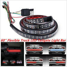 60 Inch 180LED 2-Row LED Truck Tailgate Bar Strip Red/White Reverse Stop Light