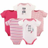 Hudson Baby Cotton Bodysuits, One of a Kind, 5-Pack