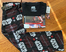 NWT Star Wars Rise Of Skywalker Men's Pajamas 2-Piece Crew Tee Pants XL