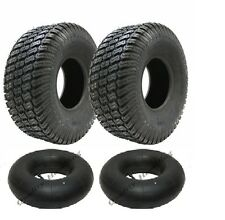 2 -15x6.00-6 4ply tyre with tubes turf grass lawn mower 15 600 6 tire lawnmower