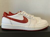 Nike Air Jordan 1 Retro Low OG 10.5 New DS 705329 101 Varsity Red White Chicago
