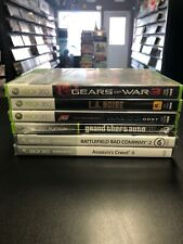 Xbox 360 6 Game Lot -Gears Of War 3, GTA IV, LA Noire, Battlefield & More ~ NEW