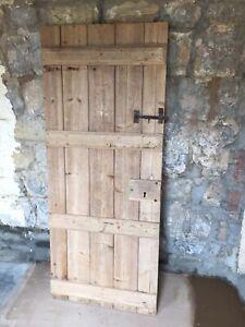 reclaimed ledge and brace door. 1890 X 775