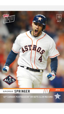 2019 TOPPS NOW ALCS CARD ASTROS GEORGE SPRINGER #1010 12th CAREER POSTSEASON HR