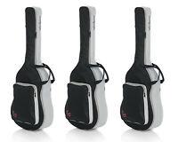 3 x Wayfinder Protable Backpack Acoustic Guitar Soft Case Gig Bag (WF-GB-ACOU)