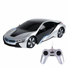 1:24 RC BMW i8 Exotic RC Sports Car Silve Model Car R/C Detailed Easy To Use Fun