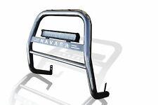 To Fit Nissan Navara D40 2010 - 2016 High A Bar Nudge Bar Bullbar + 7D LED Spot