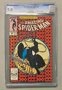 AMAZING SPIDER-MAN #300 Marvel 1988 CGC 9.0 Venom Origin & 1st Full Appearance