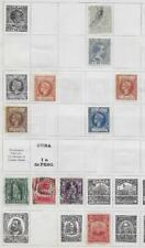 10 Spanish Caribbean Island Colony Stamps from Quality Old Antique Album