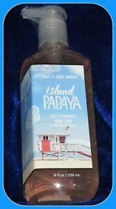 BATH & BODY WORKS ISLAND PAPAYA DEEP CLEANSING HAND SOAP