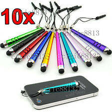 10 Mini Stylus Capacitive Anti-Dust Touch Screen Pen for iPad iPhone Samsung HTC