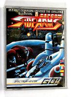 Spectrum Cassette SIDE ARMS Capcom 1987 ZX 48K 128K Amstrad +2 +3