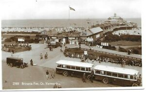 Britannia Pier - GT YARMOUTH - Norfolk - Real Photo Postcard (PCA3)