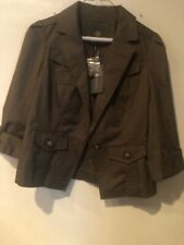 Outback Red Women Army Green Jacket XS