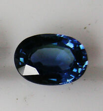 1.16ct!! BLUE SAPPHIRE NATURAL COLOUR EXPERTLY FACETED IN GERMANY+CERT AVAILABLE