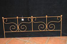 bordure de jardin / barrière en fer forgé / 1 m de long