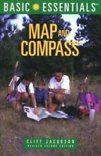 Basic Essentials Map and Compass (2nd Ed.) Cliff Jacobson Paperback How To Use