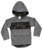Ex Chain-store Boys Kids Childrens Hooded camouflage top 2 3 4 5 6 Years old