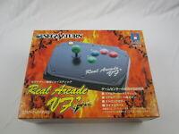 Real Arcade VF Dash  with box Controller Japan Ver Sega Saturn Segasaturn