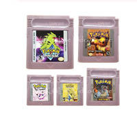 Pokemon Video Game Cartridge Console Card For Nintendo GBC GBA Series