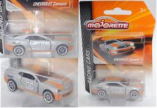 Majorette racing 212084009 Chevrolet Camaro Coupé gris/orange, 06, Nº 279a-2