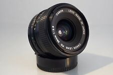 CANON FD 28mm f 2.8 LENS. EXCELLENT CONDITION, BW-52B HOOD, FREE SONY E ADAPTER