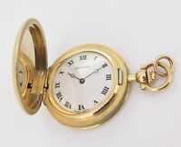 .*Vintage Chopard For Tiffany & Co 18K Gold 28mm Pocket Fob Watch - Serviced