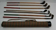 Vintage Set of Child's Golf Clubs w/Bag