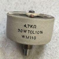 Potenciometro bobinado 4,7kΩ 30w tol 10% wm110 AB Elektronik TT Hecho Alemania
