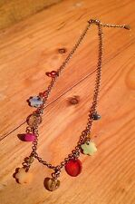 Multicoloured Eclectic Dainty Bead Necklace/Shell/Rainbow/Hippy/Boho/Claires