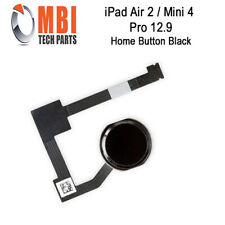 iPad Air 2 Mini 4 Pro 12.9 Replacement Home Menu Button and Flex for Black