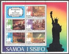 Samoa 1976 American Bicentenary Statue of Liberty Souvenir Sheet MNH (SC# 432a)