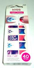 KISS Nail Dress Nail Stickers 40 Strips MARABOU 56743 KDS19  NIB Tips & Toes