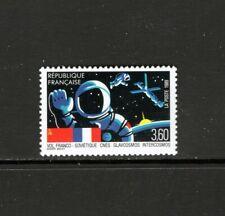 France 1989 FRENCH-SOVIET JOINT SPACE FLIGHT MNH SC 2146