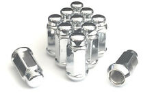 "24 Chrome Truck Lug Nuts 14x1.5 for Chevrolet GMC Silverado Sierra 1.9"" Tall"