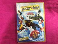 LOCOS POR EL SURF NUEVA NEW PRECINTADA DVD DIVERSION POR UN TUBO INCLUYE 4 JUEGO