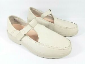 Dr. Comfort Diabetic Shoes Womens Size 10.5 A LuLu Beige T Strap Mary Janes 4630