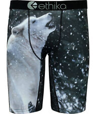 NEW Ethika Wolf Printing Men/Women Underwear Sports Short Boxer Pants Size M