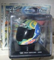 TROY BAYLISS - 2005 HELM HELMET MOTO GP 1/5 SCALE ALTAYA