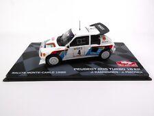 Peugeot 205 Turbo 16 E2 Monte Carlo 1986 Kankkunen 1:43 RALLY MODEL CAR RB7