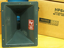 Brand new, never used ElectroVoice HP64 CD horn flares