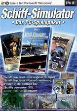 SCHIFF-SIMULATOR 2006 / PIRATEN IN DER TORTUGA BAY / SCHIFFE VERSENKEN - PC  NEU
