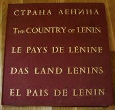 "Russian Photo Album ""The country of Lenin Novosti press agency Soviet propaganda"